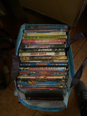 Lots of dvds movies over 100 for Sale in Bakersfield, CA