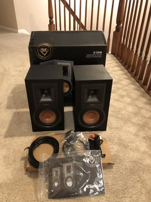 Klipsch R-15PM speakers for Sale in Manalapan Township, NJ