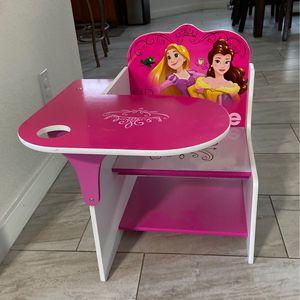Disney Princess Chair/ Desk for Sale in Phoenix, AZ