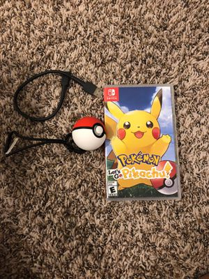 Nintendo Switch Pokémon with Poke Ball Plus for Sale in White Settlement, TX