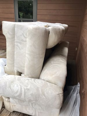 Sofa and loveseat (FREE) for Sale in Caldwell, OH