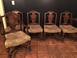 Antique dining chairs for Sale in Long Beach, CA