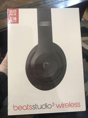 Beats Studio 3 Wireless Matte Black - Sealed for Sale in Deerfield, IL