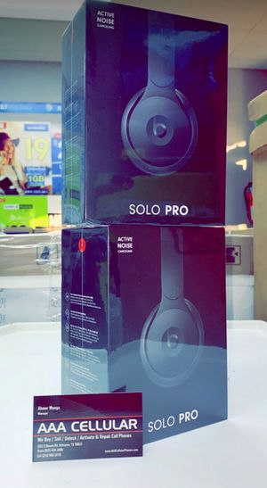 BEATS SOLO PRO Wireless, Brand New In Box, Comes with One Year Apple Warranty, Retails for $299! for Sale in Arlington, TX