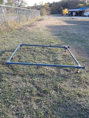 Heavy- Duty Metal Bed Frame, Adjustable Width Fits Multiple Sizes , 40. for Sale in Princeton, TX
