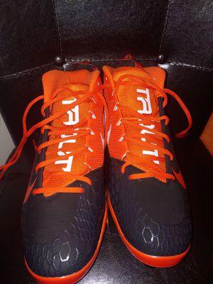Nike trout 5 baseball cleat orange / black size 11.5 for Sale in Chula Vista, CA