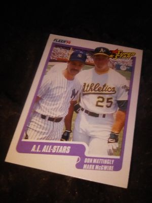 Baseball superstar card for Sale in Los Angeles, CA