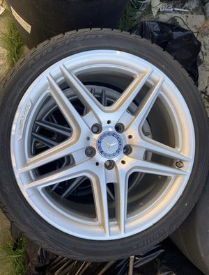 2009 Mercedes C Class AMG stock rims for Sale in San Leandro, CA