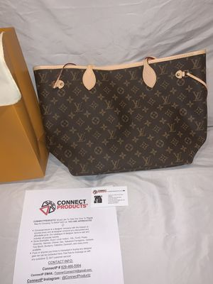 Brand New LOUIS VUITTON Brown MM Monogram Handbag M40995 (NOW available for Shipment Worldwide & Meetup in NY) for Sale in Cedarhurst, NY