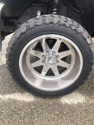 American force wheels independence 22x12 for Sale in Dinuba, CA