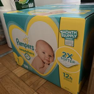 Pampers Swaddlers Size 1 for Sale in Queens, NY