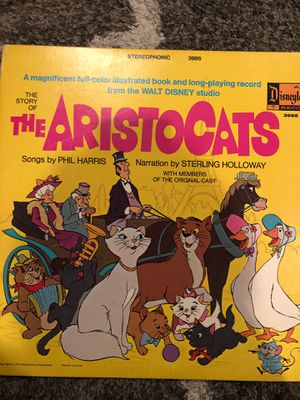 The aristocats vinyl for Sale in King of Prussia, PA