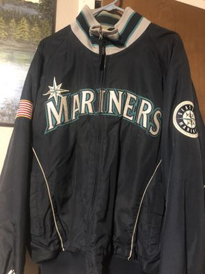 VINTAGE Authentic Majestic Seattle Mariners Jacket for Sale in Olympia, WA