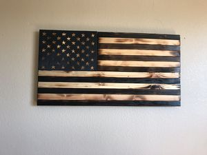 Rustic Wooden Flag for Sale in Chandler, AZ