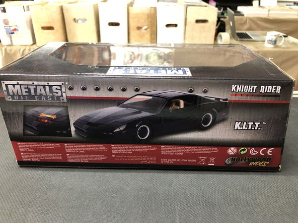 Knight Rider K.I.T.T. Hollywood Rides Metals Die Cast 1:24 Scale Jada Toys
