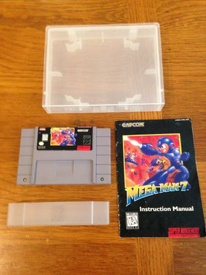 Megaman 7, SNES, with manual for Sale in Mukilteo, WA