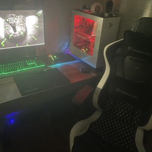 Gaming Setups Set with everything for Sale in Garfield, NJ