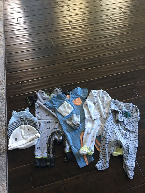 Baby boy clothes 0-3 and 3-6 sizes