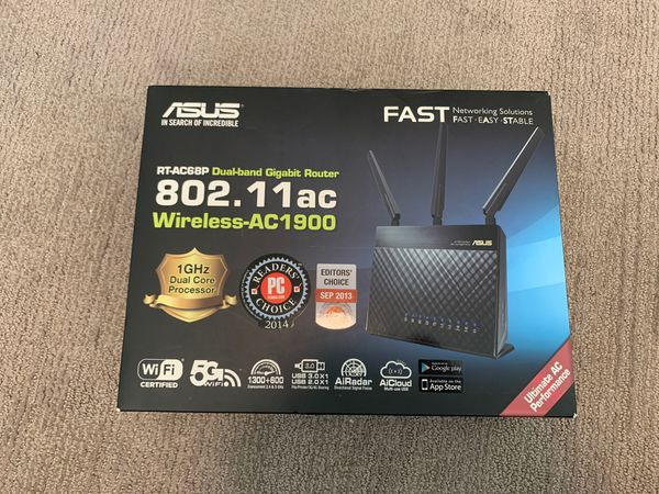 Asus RT-AC68P AC1900 Wireless Router