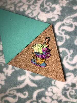 Princess Tiana Stacked Tea Cups Fantasy Pin for Sale in Scottsdale, AZ
