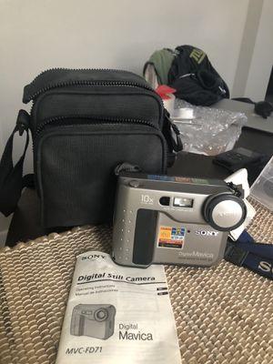 Sony Mavica MVC-FD71 Vintage Floppy Digital Camera for Sale in Cooper City, FL