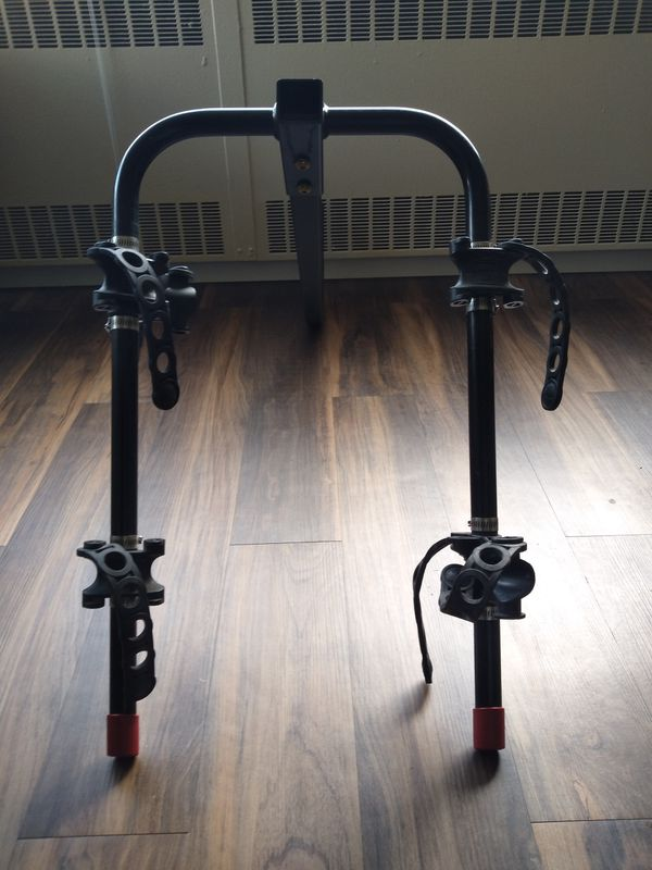 Tow hitch bike rack for 2