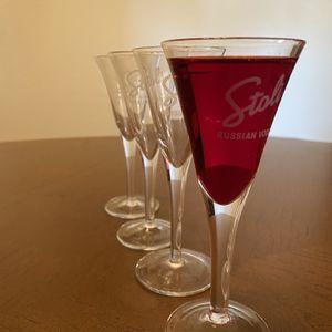 """Stolichnaya """"Stoli"""" Shot Glasses for Sale in Gilbert, AZ"""
