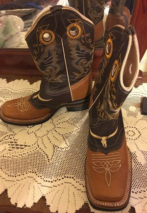 Mexican leather boots (size 8) for Sale in San Diego, CA