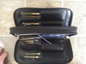 A locksmiths lock picking set for Sale in Carthage, IL