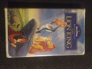 Lion King masterpiece vhs for Sale in Bellflower, CA