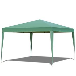 Outdoor Foldable Portable Shelter Gazebo Canopy Tent -Green OP3588GN for Sale in Rosemead, CA