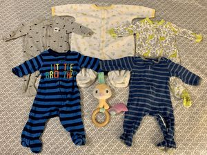Baby boy (0-3 months) clothes & Toy! for Sale in New York, NY