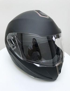 New $45 Full Face Motorcycle Bike Helmet Flip up Dual Visor (M, L, XL) DOT Approved for Sale in South El Monte, CA