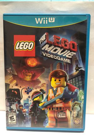 Nintendo Wii U LEGO Movie for Sale in Chicago, IL