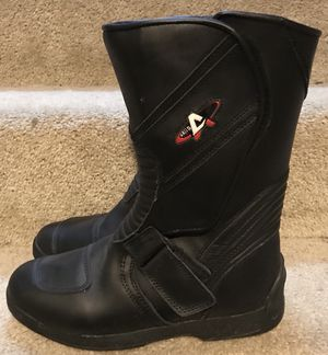 Size 10 motorcycle boots for Sale in Sunbury, OH