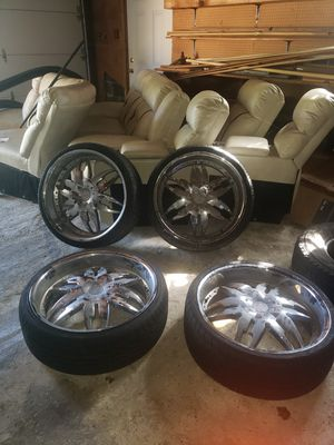 22 inch Rims for Sale in Temple Hills, MD