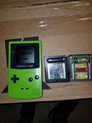 Color Game Boy for Sale in Gaithersburg, MD