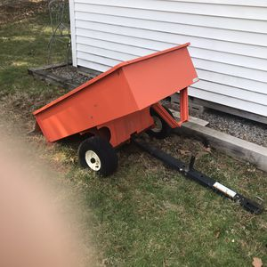 Lawn tractor trailer for Sale in Dover, MA