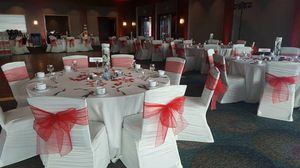 100 Red Organza Sashes for Sale in Bellevue, WA
