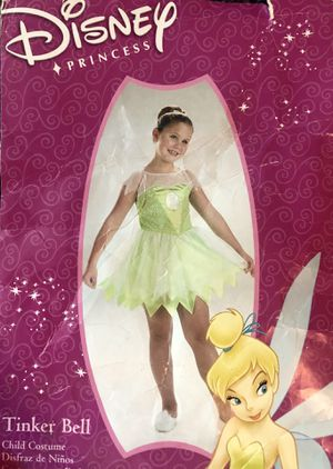 Tinker bell costume child 4-6 for Sale in San Antonio, TX