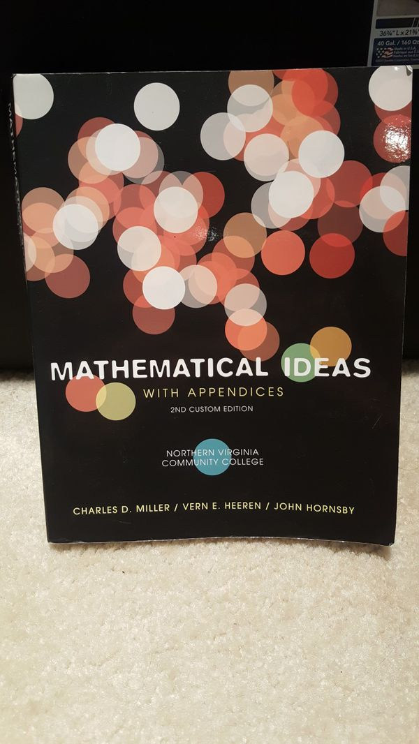 Mathematical Ideas Textbook, 2nd Edition (Northern Virginia Community College)