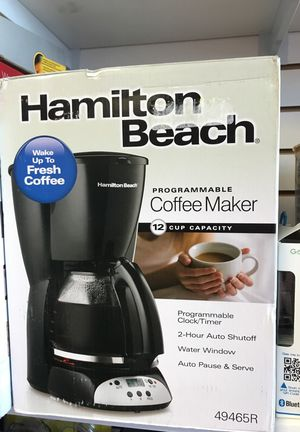 Coffeemaker with clock/timer 12 cup for Sale in Hialeah, FL