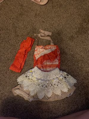 Moana Costume size 6-12 mons for Sale in Dallas, TX