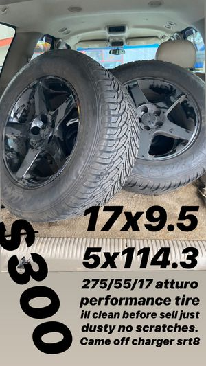 17 inch wheels for Sale in Washington, DC