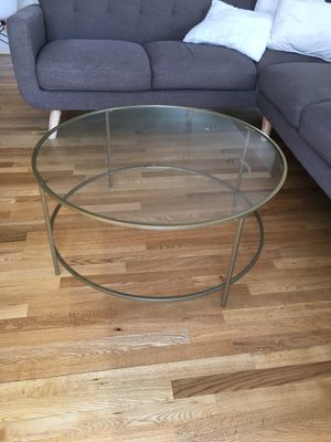 Timeless Glass Coffee table for Sale in Denver, CO