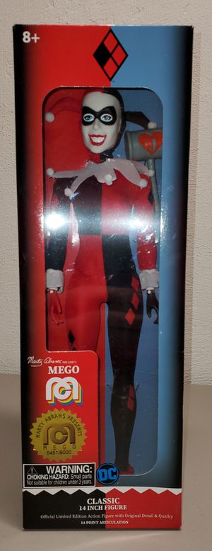 "Numbered 14"" Harley Quinn Action Figure .. new in box for Sale in Swansea, IL"