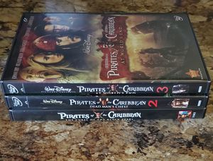 Pirate's of the Caribbean 1-3 DVD for Sale in Magnolia, TX