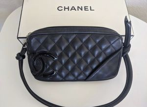 Authentic Chanel: cambon pochette clutch purse bag for Sale in Los Angeles, CA