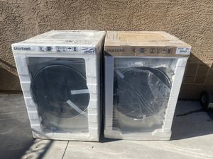 Brand new Samsung washer and dryer with WARRANTY for Sale in Scottsdale, AZ