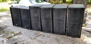 Peavy qw218 y versarray 218 $$ 1000 cada uno a tratar for Sale in Tampa, FL